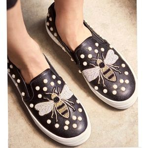 Steve Madden Polly Bee Embellished Sneakers